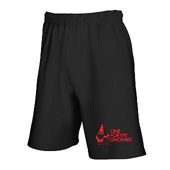 Black tracksuit shorts trk0467 for gnomies