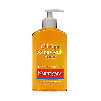 Neutrogena oil-free acne wash, 9.1 oz