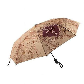 Harry Potter Regenschirm Marauders Karte