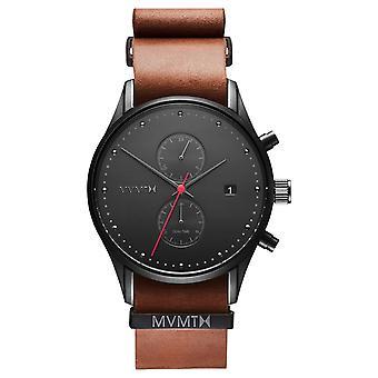 MVMT VOYAGER Outback heren horloge horloge lederen MV01-BTL2