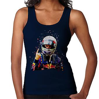Motorsport Images Sebastian Vettel Interlagos 2013 Women's Vest