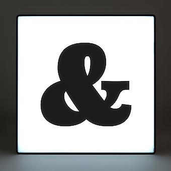 Ampersand (&) Alphabet Lightbox