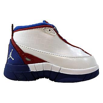 Nike Air Jordan 15 SE Biały/Metaliczny Srebrno-Niebieska Wstążka-Varsity Red 318586-104 Maluch