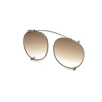 Occhiali da sole Tom Ford TF5294 Clip-on 29K Matte Rose Gold/Brown Gradient