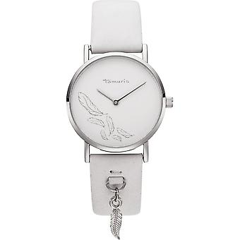 Tamaris - Wristwatch - Bente - DAU 34mm - Silver - Women - TW080 - silver white