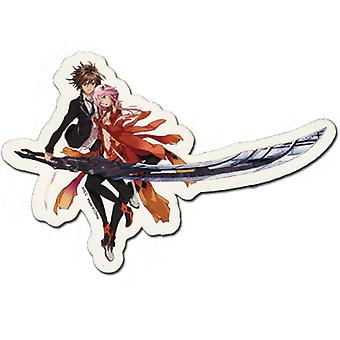 Sticker - Guilty Crown - New Ouma & Yuzuriha Toys Anime Licensed ge55126