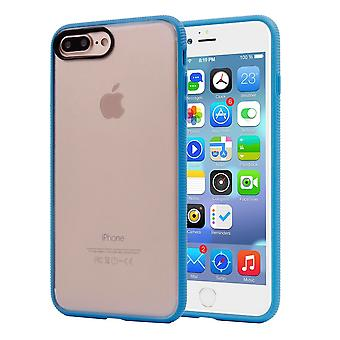 For iPhone 8 PLUS,7 PLUS Case,Stylish Frosted Guard Protective Cover,Blue