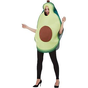 Avocado kostuum volwassen groen