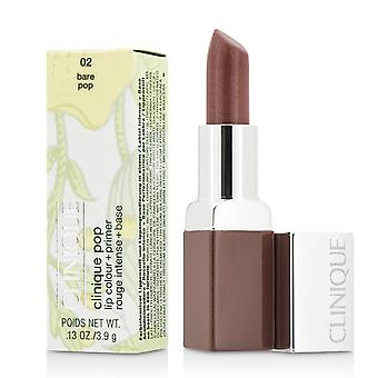 Clinique pop læbe farve + primer # 02 nøgne pop 188258 3.9g/0.13oz