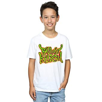 Billie Eilish Boys Graffiti Logo T-Shirt