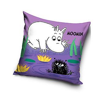 Moomin Purple Filled Cushion
