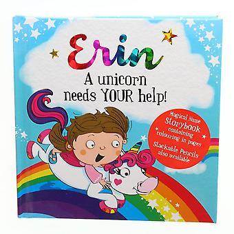Geschichte & Heraldik magischen Namen Storybook - Erin