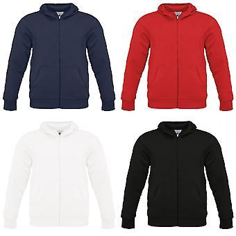 B&C Mens Monster Full Zip Hooded Sweatshirt / Hoodie