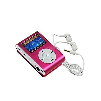 4gb Mp3 Player With Radio - Pink