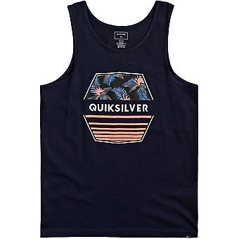Quiksilver Drift Away Sleeveless T-Shirt in Navy Blazer
