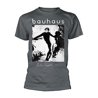 Graue Bauhaus Bela Lugosi's Tot offizielle T-Shirt Herren Unisex