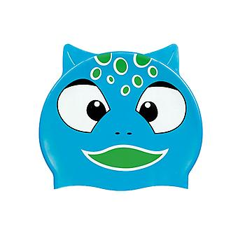 BECO Junior Silicone Character Caps-Blue Cat Fish