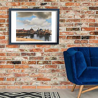 Johannes Vermeer - View of Delft Poster Print Giclee