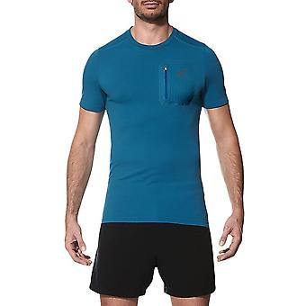 アシックスエリートSSトップ1412348154ユニバーサルオールイヤーメンTシャツ