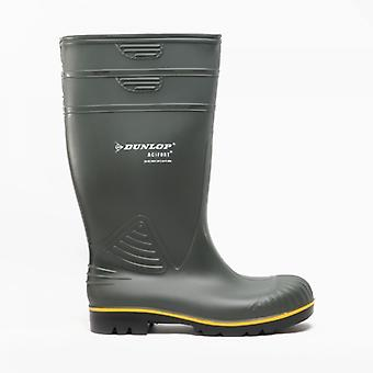 Dunlop Acifort Mens Agricultural Wellington Boots Green