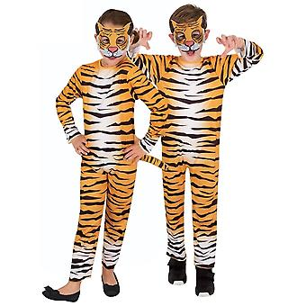 Tiger Cub Big Cat Jungle Wild Animal African Book Week Unisex Girls Boys Costume