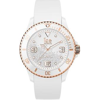 Ice Watch Watch Unisex ICE kristall Vit ros-guld Smooth Medium 017248