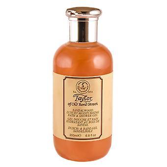 Taylor of Old Bond Street Sandalwood Bath & Shower Gel - 200ml