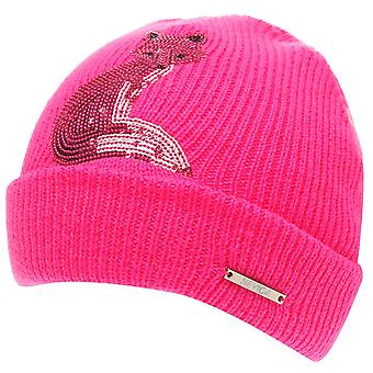 Nevica Girls Foxy Beanie Junior Double Layer Construction Knitted Hat Cap