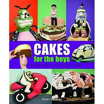 Cakes for the Boys: 13 Themed Cake Designs for Boys and Men of All Ages
