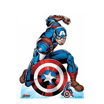Captain America First Avenger Official Marvel Cardboard Cutout / Standee