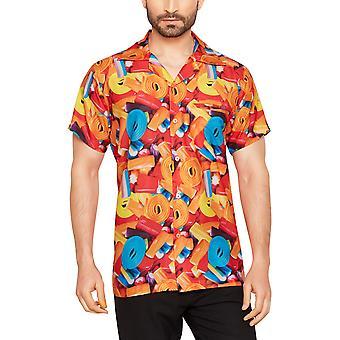 Club cubana men's regular fit classic short sleeve casual shirt ccd1