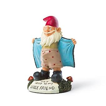 Bigmouth perverted garden gnome