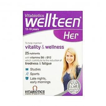 Vitabtiotics - Wellteen Her Tablets 30s