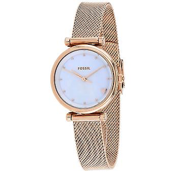 Fossil Women's Mini Carlie Mother of Pearl Dial Watch - ES4505