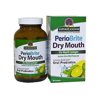 Nature's Answer PerioBrite Dry Mouth Lozenges 100 1594