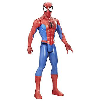 Spider-Man Titan Hero Serie Figura Spider-Man con Power FX Port