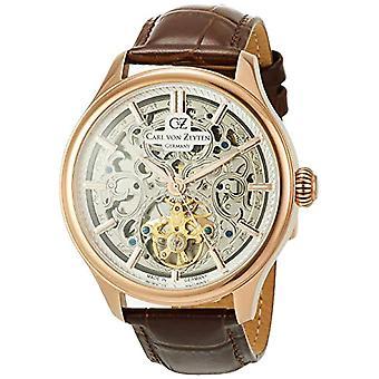 Carl von Zeyten Clock Man ref. CVZ0014RSL function