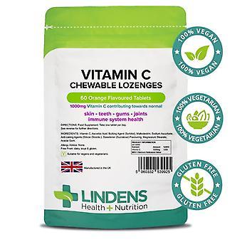Lindens C-vitamiini 1000mg pureskeltava imeskelytabletit 60 (9925)