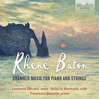 Musique de chambre Piano & Cordes [CD] Usa import