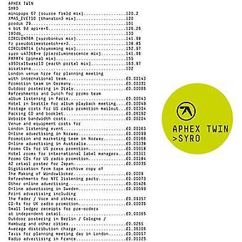 Aphex Twin - Syro [CD] USA import