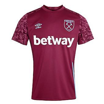 Camisa de treinamento do West Ham 2020-2021 (Claret)