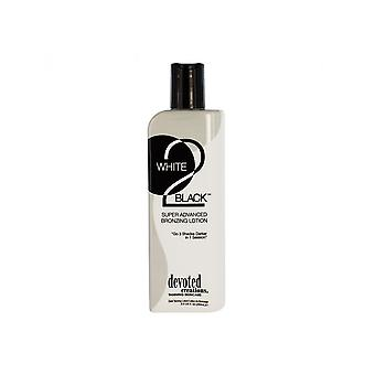 Devoted Creations White 2 Black Super Advanced Bronzing Tanning Lotion - 260ml