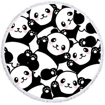 Cute Pandas Beach Towel