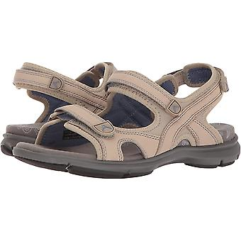 Aravon Frauen's Revsandal Drei Strap Flache Sandale