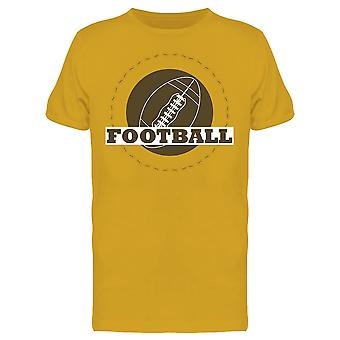 Vintage American Football Design Tee Men's -Image by Shutterstock