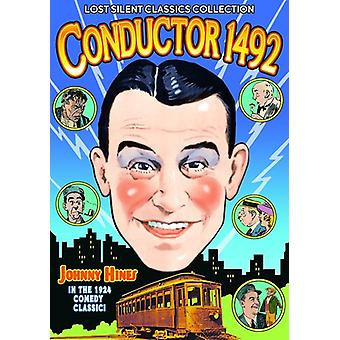 Conductor 1492 (Silent) [DVD] USA import