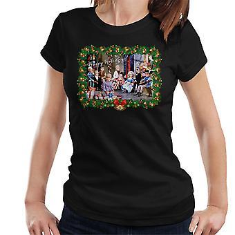 Thunderbirds Christmas Happy Holidays kort kvinder ' s T-shirt