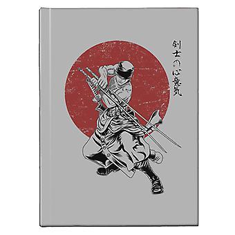 Pirate Hunter Zoro The Sword Master One Piece Hardback Journal