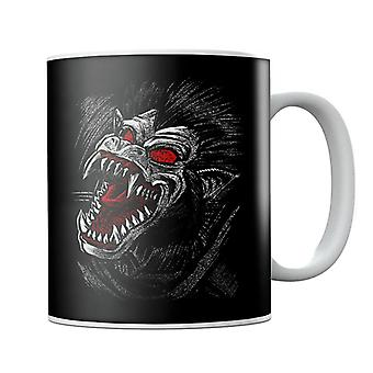Sketch Ozaru Great Ape Dragon Ball Z Mug