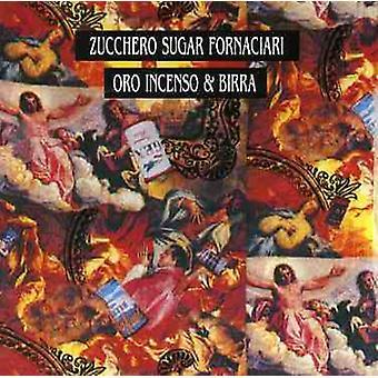 Zucchero - importación de los E.e.u.u. Oro Incenso & Birra [CD]